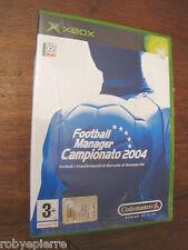 Videogioco xbox NUOVO football manager campionato 2004 codemasters x box vendo