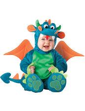 Niedlicher Drache Babykostüm blau-grün Cod.230944