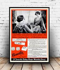 Boncilla : Vintage make up Advert , poster, Wall art, poster, reproduction
