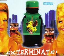 SNAP! ft NIKI HARIS - Exterminate (UK 3 Trk CD Single)