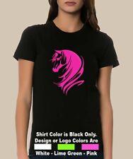 Horse Arabian Head Mane Cowboy Cowgirl Ride Country Pickup T Shirt or Tank Top