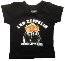 ROCKER BYE BABY Led Zeppelin WHOLA LOTTA LOVE Kids Rock Star's T-Shirt g.56/62