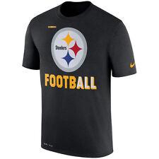 Pittsburgh Steelers Nike Sideline Legend Football Tee (Black) Men's Size L