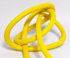 Premium Textilkabel Stoffkabel Gelb - 2x0,75 und 3x0,75 - EU Design Produkt