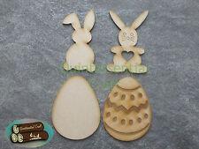 Wooden Easter Craft Blanks Bunny Easter Egg