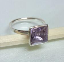 Echter Amethyst Silberring * 925 Silber Ring Damenring * Größe 52 53 55 56 58