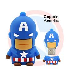 USB Stick Captain America Super Heros  3D  4GB, 8GB, 16GB,32GB, 64GB, Muster