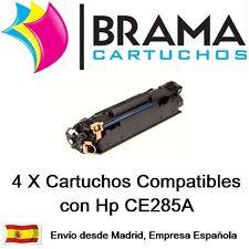 4x compatible HP 85A LaserJet CE285A P1102W M1132MFP