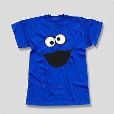 T-Shirt Krümelmonster ohne Kekse Karneval Fasching Sesamstraße Kids Men 116-5XL