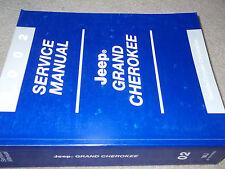 2002 Mopar JEEP GRAND CHEROKEE Service Shop Repair Workshop Manual Brand New