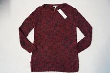 ESPRIT Pullover Gr. XL, 2XL weinrot / schwarz / weiß meliert *2 Farben* *NEU!*