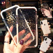 Pare-chocs Silicone Antichoc Housse Slim Transparent Etui Arrière pour iPhone X
