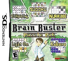 Nintendo DS : Brain Buster Puzzle Pak VideoGames