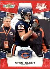 2008 Score Super Bowl XLIII Football #1 - #288 Choose Your Cards