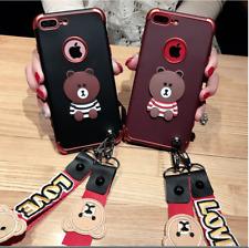 Handyhülle Schutzhülle Silikon 3D Halsband  iPhone7/8, iPhone7/8Plus iPhone X