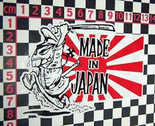 Comic Datsun Sticker 1600 180B 120Y 240Z 260Z SSS 100A