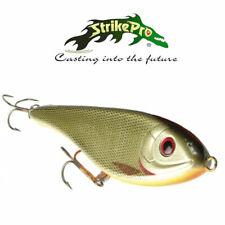 Strike pro Buster Jerk II 12cm ce qui diminue beaucoup de couleurs Jerkbait poisson carnassier-shop