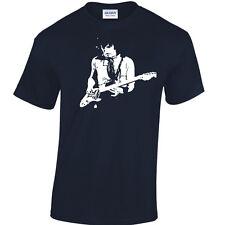 Peter Vert T-Shirt inspiré Fleetwood Mac Bleus Super Guitare Legend De 60 70