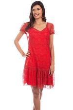 Scully Women's Cap Sleeve Lace Dress HC581