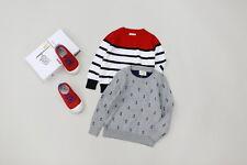 New Childrens Kids Winter Junior Jumper Knitted Sweater Assorted Design
