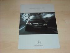 38885) Mercedes A-KLasse W168 Spirit Prospekt 199?