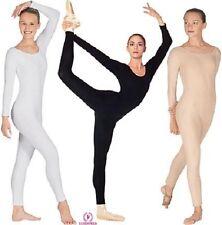 Eurotard Plus Size Long Sleeve Unitard, Style 10129, Size 2X, 3X