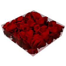 Echte konservierte Rosenblätter - Streukörbchen Hochzeit Tischdeko - bordeaux