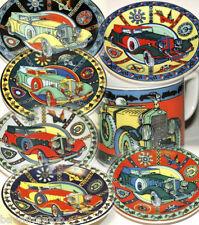 TWIN SIX Bopla Porzellan Teller 13cm fürs Feine & Unterteller zur Espressotasse