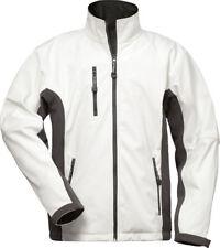 weiße Softshelljacke Jacke weiss Malerkleidung Arbeitsjacke wasserabweisend 6b73441173