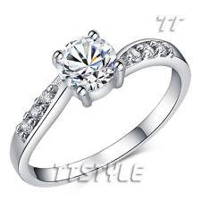 Elegant TT Engagement Wedding Ring Size 6-8 (RF95)