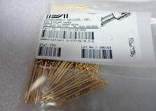 (NEW) IDI Test Pin Waffle Tip Pogo P/N 101115-192-922 Cat S-100-HL-6.7-G Qty-100