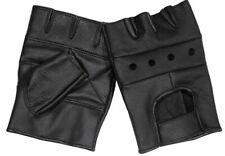 motard-gants en cuir gants mitaines kart moto Noir Homme 514