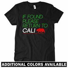 RETURN TO CALI Women's T-shirt - If Found Please - California Los Angeles SF SD