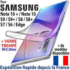 Coque Pour Samsung Galaxy Note 10+ - Plus S10e S10 S9 S8 S7 Housse Etui Silicone