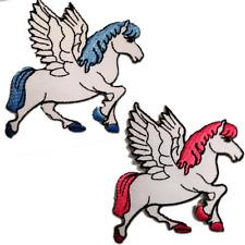 Ecusson - unicorno cheval - plusieurs couleurs sélectionnables - 7,5 x 7,5 cm -