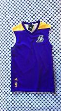 Canotta Adidas NBA Reversibile Uomo - Leakers - Viola Giallo - AJ1886