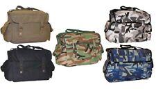 NEW VINTAGE COOL ARMY MEDIUM SHOULDER HAVERSACK BAG