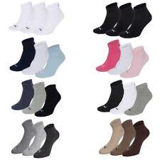 3 Paar Puma Sneaker Quarter Socken Gr. 35 - 49 Unisex für Damen Herren Füßlinge