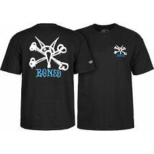 Powell Peralta Skateboard Shirt Rat Bones Black