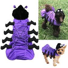 Dog Spider Dress Up Costume S M L XL 2XL -  Pet Tarantula Halloween Party Puppy