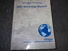 2001 Ford Mercury Villager VAN Service Shop Repair Workshop Manual FACTORY