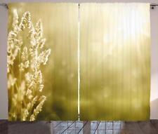 Autumn Design Curtains 2 Panel Set Decoration 5 Sizes Window Drapes