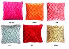 Throw Home Decoration Fur Fluffy Sofa Pillow Soft Plush Cushion Cover
