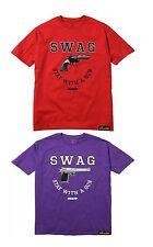 SWAG Stay With A Gun Tee Hip Hop Urban Street wear