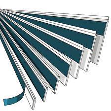 20mm-80mm Fensterleiste Abdeckleiste Flachleiste Kunststoffleiste Fensterleisten
