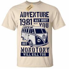 Adventure May Hurt You T-Shirt Camper Van mens