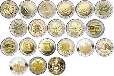 2 euros monedas especiales Malta a partir de 2009 años todos-libre elegibles-prägefrisch
