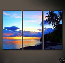 MALDIVES SUNSET Leinwand Bilder Bild Malediven Lounge