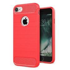 """Para Apple Iphone 7 8 4.7"""" Nuevo Original Negro Azul Rojo Fibra de Carbono Gel"""