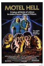 MOTEL HELL Movie Poster Horror Gore
